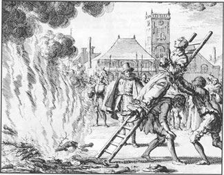 An Anabaptist martyr