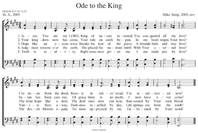Ode to the King