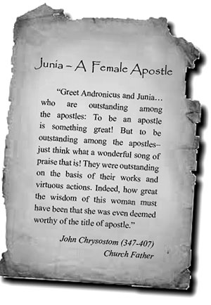 Junia—A Female Apostle