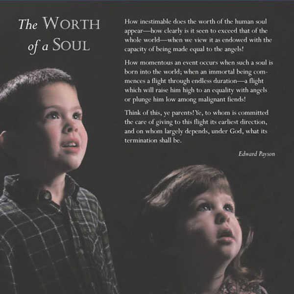 Back Cover - The Worth of a Soul